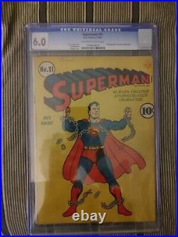 Superman #11 1941 CGC 6.0