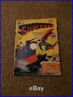 Superman 15 1942 1st Print