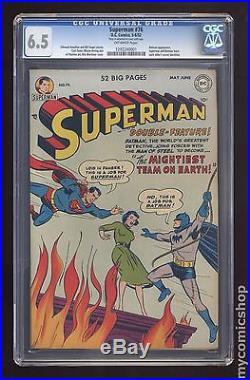 Superman (1939 1st Series) #76 CGC 6.5 1292240001