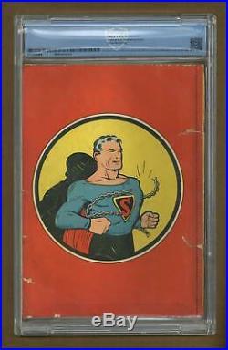 Superman #1 CBCS 1.5 1939