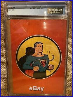 Superman #1 CGC 1.5 1939