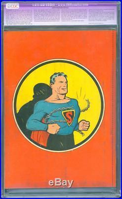 Superman 1 CGC 8.5 OWithW MP Golden Age Key DC Highest Grade Mega Grail IGKC L@@K
