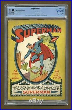 Superman (1st Series) #1 1939 CBCS 1.5