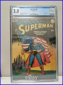 Superman #24 CGC 3.0