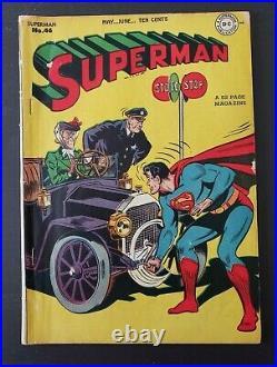 Superman #46 (dc, May-june 1947) Golden Age! Mr. Mxyztplk! 1st Superboy In Title