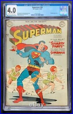 Superman #56 DC 1949 CGC 3.0 Prankster appearance