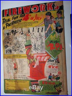 Superman #5 1940 Fair Luthor App