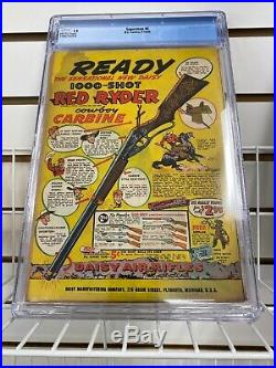 Superman #6 CGC 1.5 DC 1940 All Star Comics 1 Ad Siegel Shuster Burnley 20mp