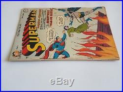 Superman # 76 DC Comics1952 First Superman Batman Team-up Not CGC/CBCS