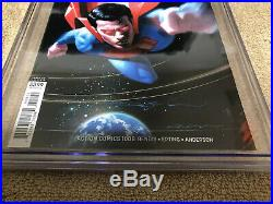 Superman Action Comics 1000 CGC 9.8 SS Jeff Dekal Metallic Blue Variant