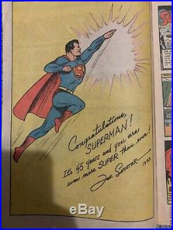 Superman Action Comics #1 June 1938
