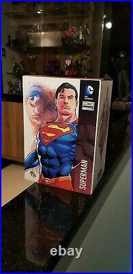 Superman Authentic Iron Studios DC Comics serie 1 with exclusive head! Rare