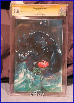 Superman/Batman #7 Variant CGC 9.6 SS Dell'Otto & Jerry Robinson created Joker