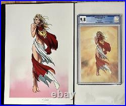 Superman/Batman #8 (CGC 9.8 & Print Combo) Michael Turner Sexy Supergirl HTF