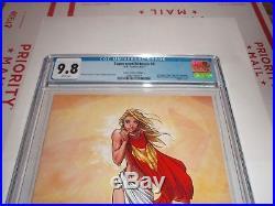 Superman/ Batman #8 Cgc 9.8 (aspen Cover C)(michael Turner)sdcc Virgin Variant