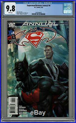 Superman Batman Annual #4A Lau Variant CGC 9.8 2010 2004289003
