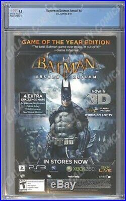 Superman / Batman Annual #4 CGC 9.8 1st App. Batman Beyond in DCU Artgerm