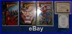 Superman Collectors Plaque Signature, Funeral For A Friend Collectors, Comic Lot