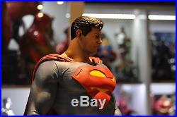 Superman Custom Statue by Erick Sosa, 1st Edition painted by John Allred
