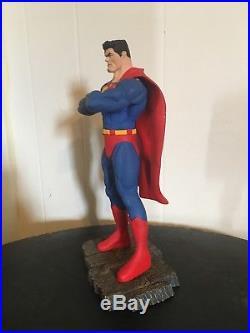 Superman Ed McGuinness Custom Model Statue Professionally Painted DC Comics