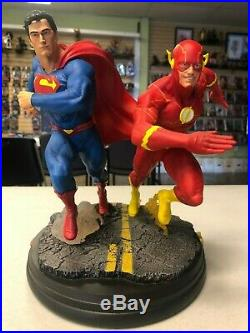 Superman Flash Race DC Collectibles Statue