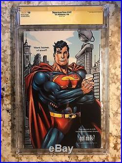 Superman / Gen-13 #2 Variant Cover CGC SS 9.8 Campbell / Adam Hughes Sigs