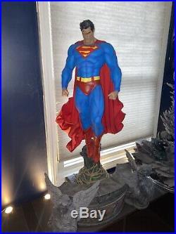 Superman Hush Prime 1 Fabric Cape Statue SOLD OUT