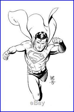 Superman ORIGINAL ART by the great X-Men Artist PAUL SMITH