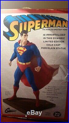 Superman Statue / Randy Bowen / Graphitti Designs / Cold Cast Porcelain / #1576