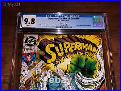 Superman The Man of Steel #18 CGC 9.8 NM/MT 1st Doomsday. 5th Print. DCU Rare