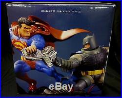Superman VS Batman Battle Statue New Frank Miller Dark Knight Returns DC Comics