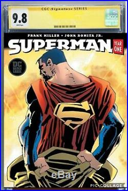 Superman Year One CGC SS 9.8 Signed by Frank Miller Pre-sale