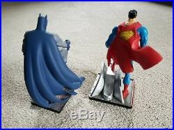Superman and Batman Mini Statues DC Direct Jim Lee