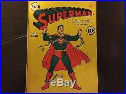 Superman comics, #11