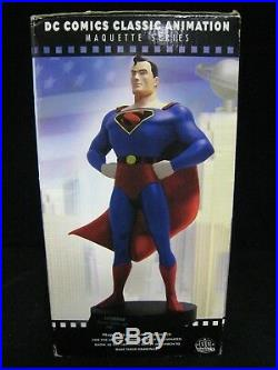 Superman dc comics fleischer classic animation statue hand painted limited 2500