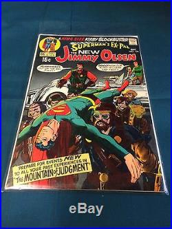 Superman's Ex-Pal The New Jimmy Olsen #134 1st Appearance Of Darkseid! VF+