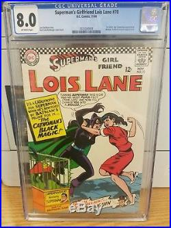 Superman's Girl Friend, Lois Lane #70, CGC 8.0 (Nov 1966, DC) KEY ISSUE