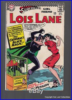 Superman's Girl Friend Lois Lane 70 DC Comic Book 1966 1st SA Catwoman