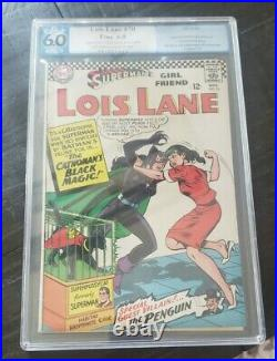 Superman's Girl Friend Lois Lane 70 PGX NOT CGC 6.0 1st APP Silver Age Catwoman