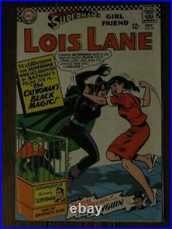Superman's Girlfriend Lois Lane 70 1st SA Catwoman 1966 DC 1st Series Superman