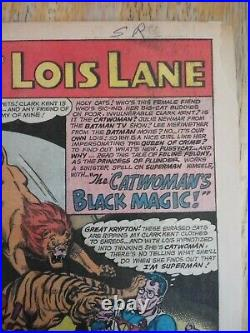 Superman's Girlfriend Lois Lane 70 And 71. 1st And 2nd SA App Of Catwoman