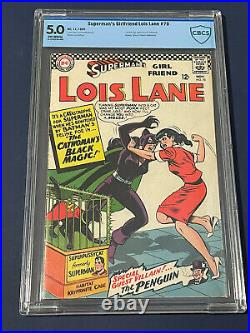 Superman's Girlfriend Lois Lane #70 CGC 5.0 1966 1st Appearance Of Catwoman