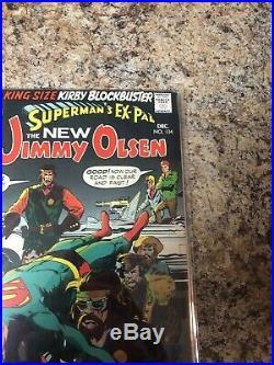 Superman''s Pal Jimmy Olsen #134 DC 1970 1st app Darkseid