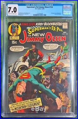Superman's Pal Jimmy Olsen #134 (DC, Dec 1970) CGC 7.0 1st Appearance Darkseid