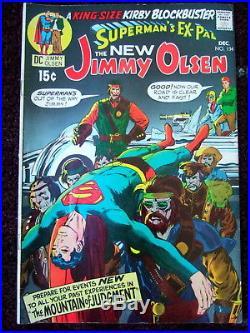 Superman's Pal Jimmy Olsen #134 High Grade COMIC 1st Appearance of Darkseid JLA
