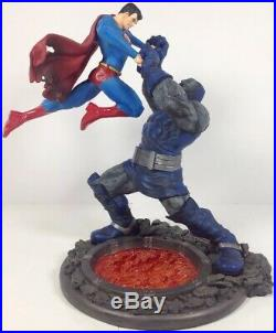 Superman vs Darkseid 2nd Edition Full Size Statue DC Direct, Mint Preowned