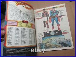 Superman vs Muhammad Ali DC Collectors Edition 1978 C56 ExCELLENT