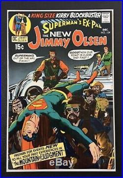 Supermans Pal Jimmy Olsen #134 1st Appearance Of Darkseid BEAUTIFUL BOOK