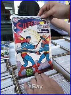 Supreme Silver Age Comic LotCaptainAmerica, TheHulk, Superman, Batman(Random Grab)