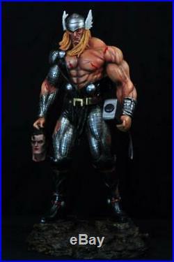 THOR vs SUPERMAN 19 INCHES STATUE Finet XM fan art CUSTOM